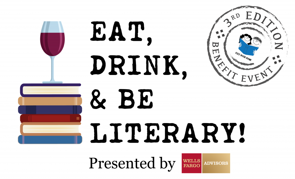 Cleveland Kids' Book Bank Eat, Drink, & Be Literary logo