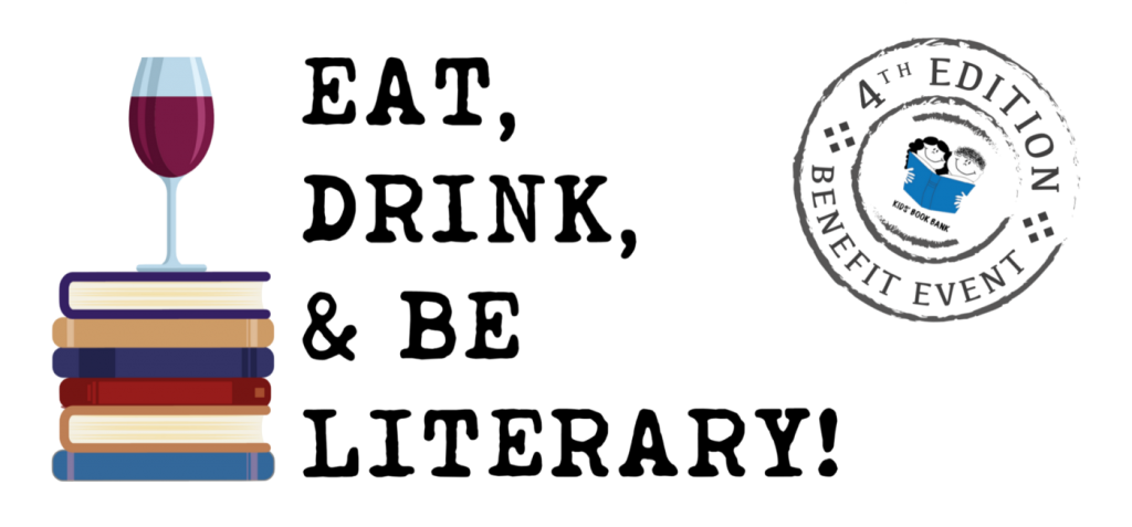 Cleveland Kids' Book Bank Eat, Drink, & Be Literary! logo