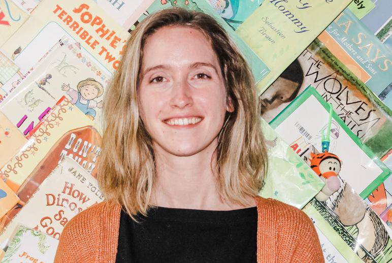 Cleveland Kids' Book Bank Volunteer Services Coordinator Colleen Watt