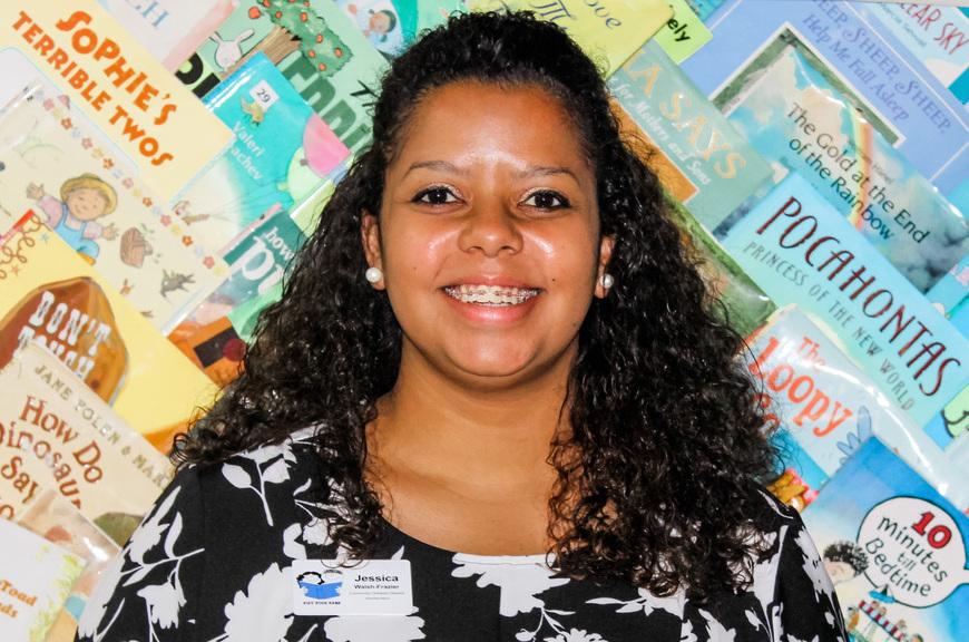 Cleveland Kids' Book Bank Community Outreach Director Jessica Walsh-Frazier