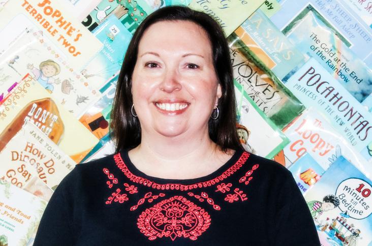 Cleveland Kids' Book Bank Communications Manager Leslie FitzSimmons