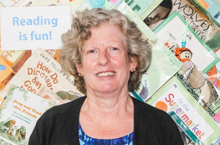 Cleveland Kids' Book Bank Administrator Margie Ordog