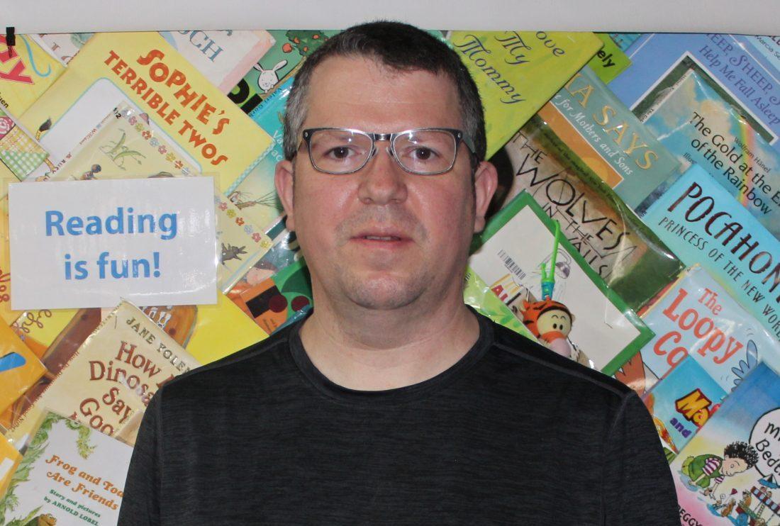 Cleveland Kids' Book Bank Warehouse Coordinator Steve Maistros