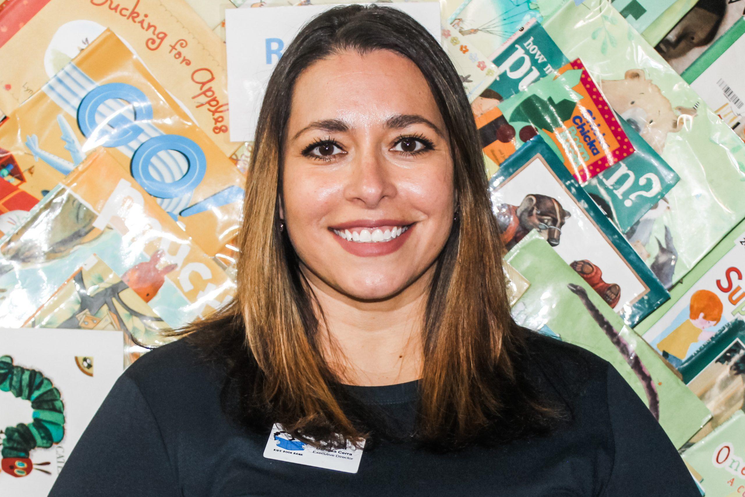 Cleveland Kids' Book Bank Executive Director Thea DeRosa Cerra
