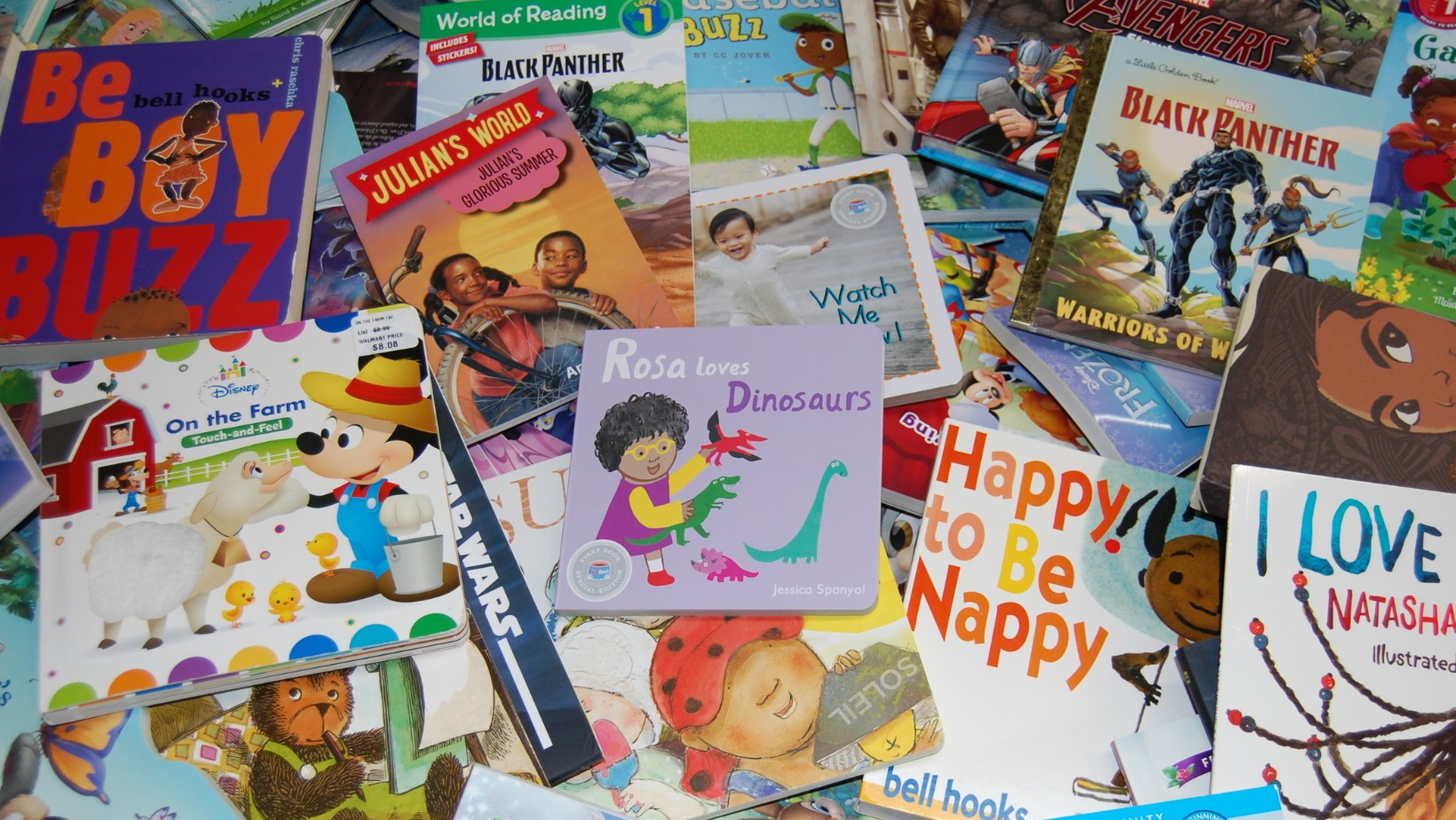 Cleveland Kids' Book Bank donated books